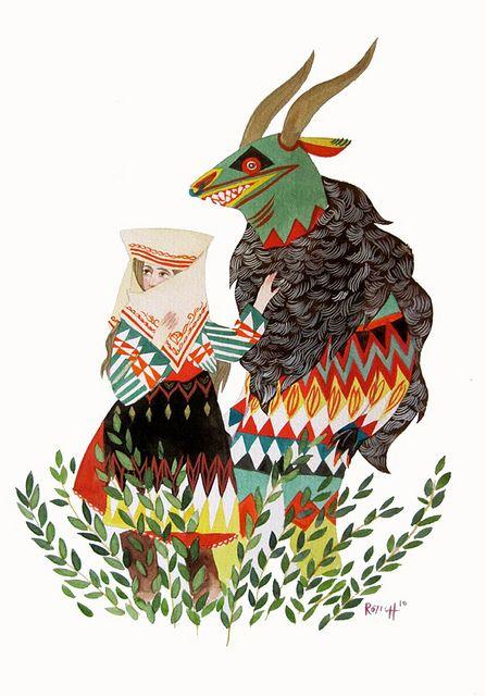 Stacey Rozich.: Inspiration, Folk Art, Style, Illustrations, Artist, Staceyrozich, Design, Character