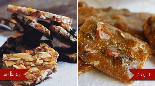 Edible Christmas Gifts: Old-Fashioned Peanut Brittle Recipe, Fragrant Indian Brittle Recipe, Indian Curry and Pistachio Artisan Brittle from Morning Glory Confections