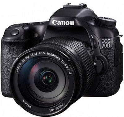 Canon EOS 70D Kit 18-200mm f/3.5-5.6 IS WiFi | specification