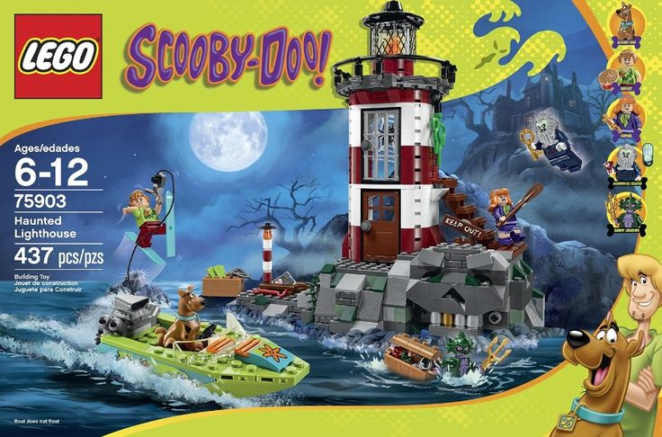 LEGO 75903 Haunted Lighthouse – 437 pieces