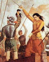 Inés de Suárez (1507-1580).Inés de Suárez pasó a la historia por haber protagonizado uno de los actos más crueles de la batalla por los territorios americanos. Ante la lucha encarnizada con los pueblos indígenas que ocupaban la actual Chile, Inés de Suárez no dudó en decapitar a sus siete caciques presos para atemorizar y amedrentar al enemigo. Inés mantuvo una relación extramatrimonial y escandalosa con Valdivia pero terminó sus días como  devota esposa de Rodrigo de Quiroga