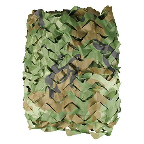Camo Netting - Woodland Camo Net - Large and Lightweight Camouflage Mesh Netting - Perfect for Camping Shooting Hunting - Military Themed Party Decoration   https://huntinggearsuperstore.com/product/camo-netting-woodland-camo-net-large-and-lightweight-camouflage-mesh-netting-perfect-for-camping-shooting-hunting-military-themed-party-decoration/