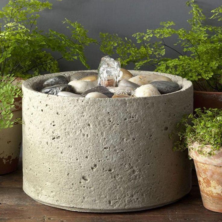M-Series Pebble Garden Terrace Fountain