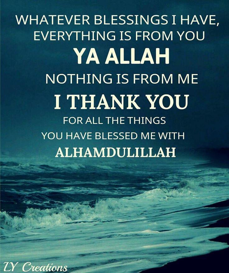 So many blessings...Alhamdulillah.