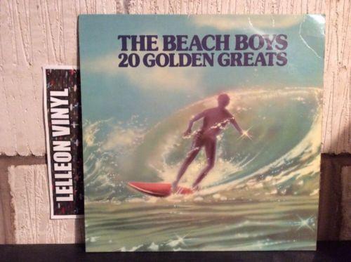 The Beach Boys 20 Golden Greats LP Album Record Vinyl EMTV1 Pop 70's Surfin USA Music:Records:Albums/ LPs:Pop:1970s