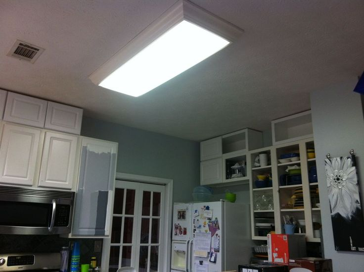 I am currently renovating my kitchen cabinets and lighting and finally got around to updating my old fluorescent kitchen lighting to recessed LED lights that al…