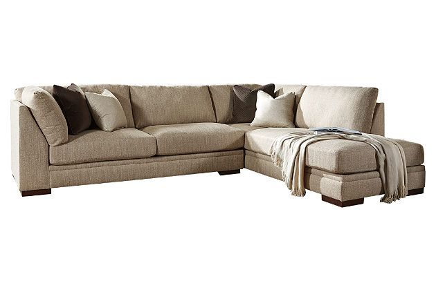 Barley Malakoff 2-Piece Sectional View 2  Kathy - Not sure about the color though but like the cushions