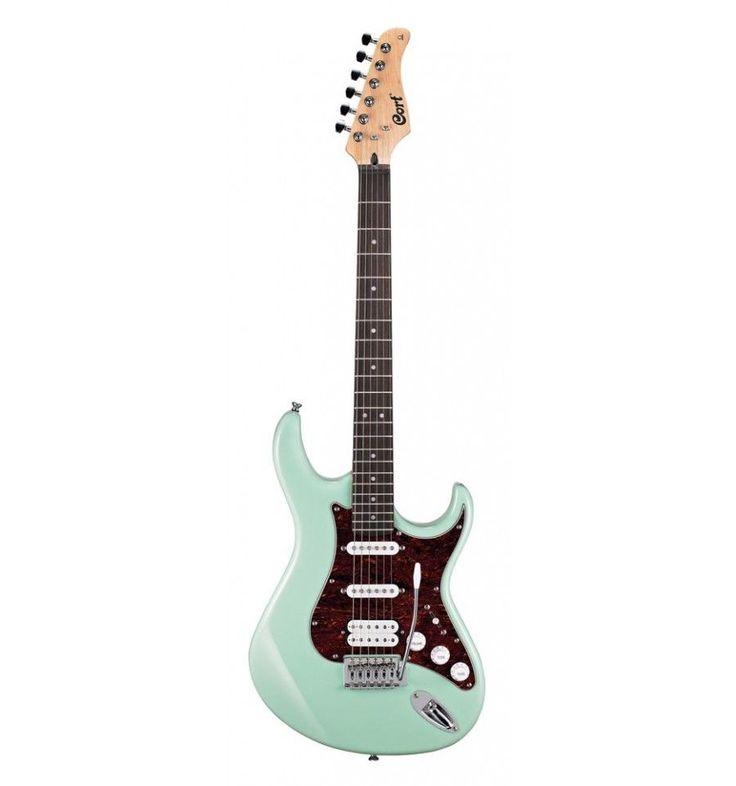Cort G110 CGN - Caribbean Green - Guitare électrique