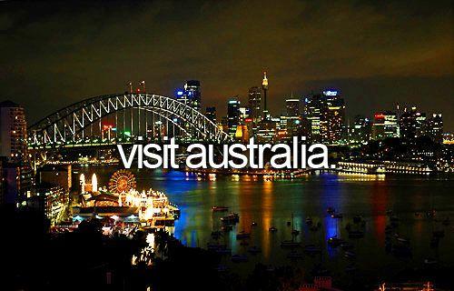 Visit Australia.