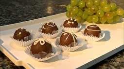 Receita do Campo: veja o passo a passo dos bombons de uva