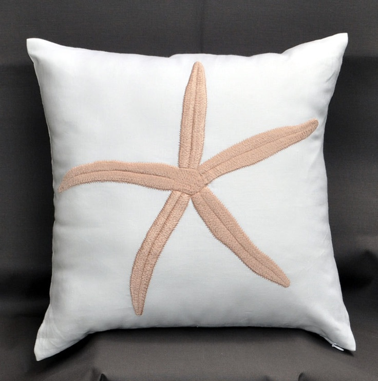 Nautical Coastal Throw Pillows : 142 best images about Decorating nautical/ coastal pillows on Pinterest Starfish, Nautical ...