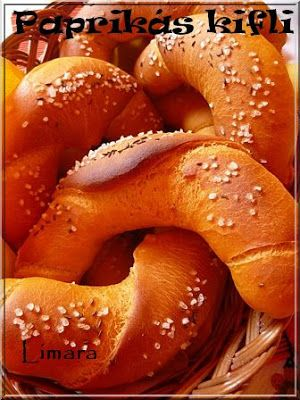 Limara péksége: Paprikás kifli