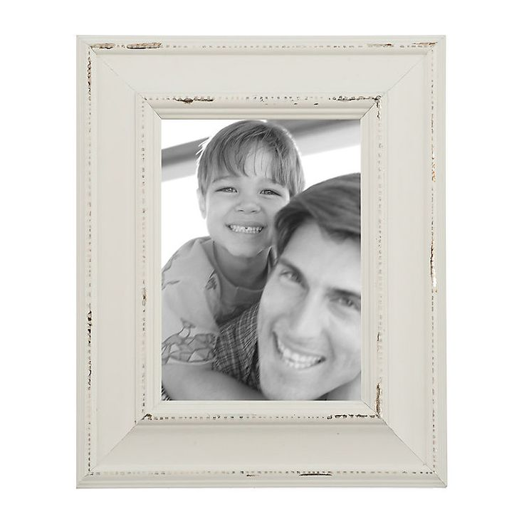 Distressed Cream Picture Frame, 5x7 | Kirklands