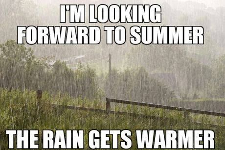 Very Welsh.<<-And rather British too but yeah it seems to rain almost constantly in Wales