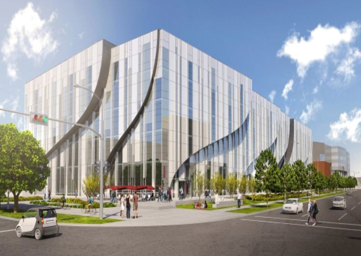MacEwan University - The Center for arts and communication will be a five story building for visual and performing arts and provide a modern teaching space the cost is 150 million to be completed by 2017.
