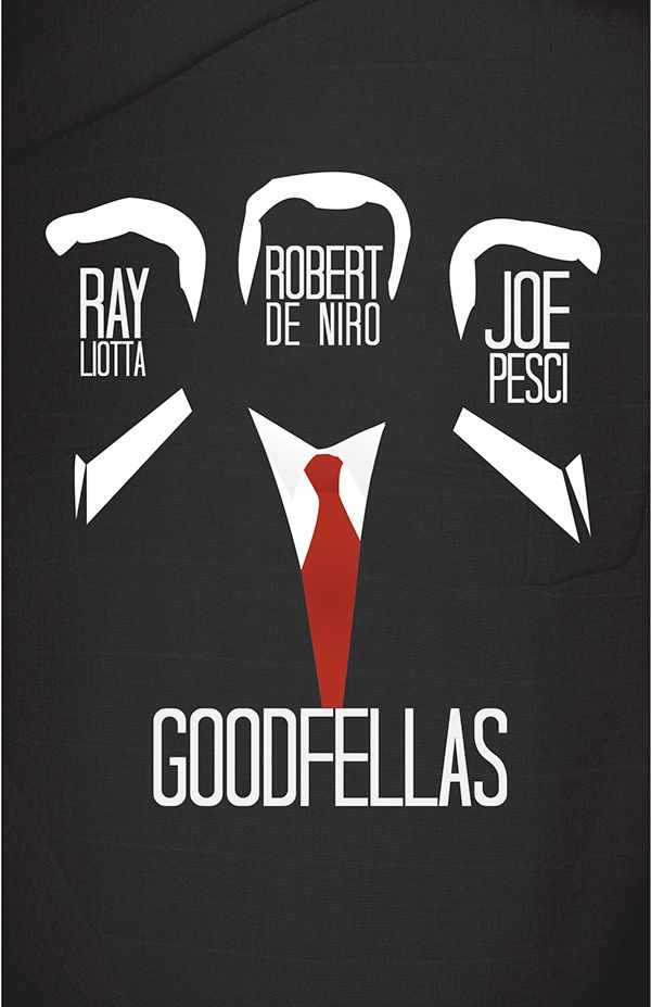 Goodfellas (1990) ~ Minimal Movie Poster by Nick Higgins #amusementphile