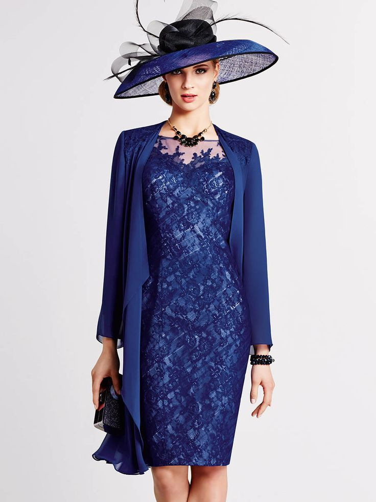 991032 by Veni Infantino occasion wear - Colour Royal Blue - Price £406. Mother of bride dress. Wedding Shop Colchester Essex. Call us on 01206 767359.