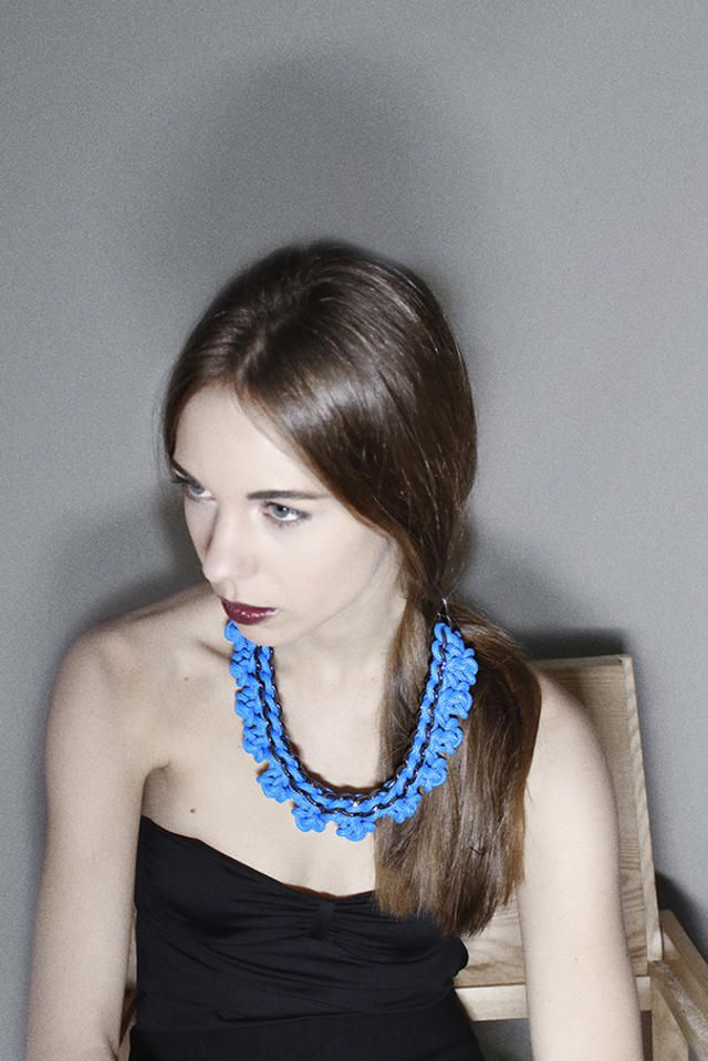sailing rope necklace by alienina