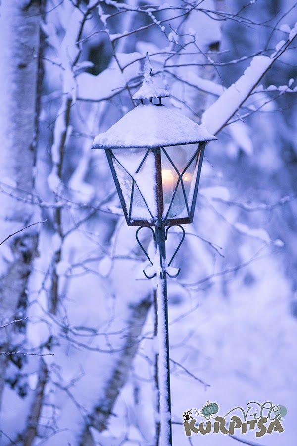 snow and winter & lunta ja talvi