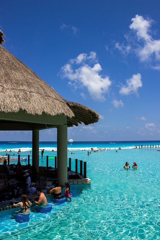 The Westin Lagunamar Ocean Resort Villas & Spa, part of the Starwood Perferred Guest (SPG) loyalty program, in Cancun, Mexico.