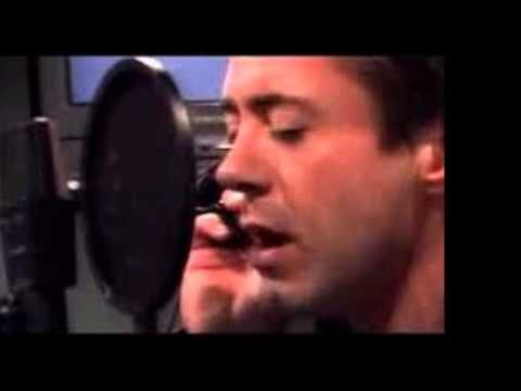 Who even knew this man could sing?  This well?  Robert Downey Jr- River - YouTube