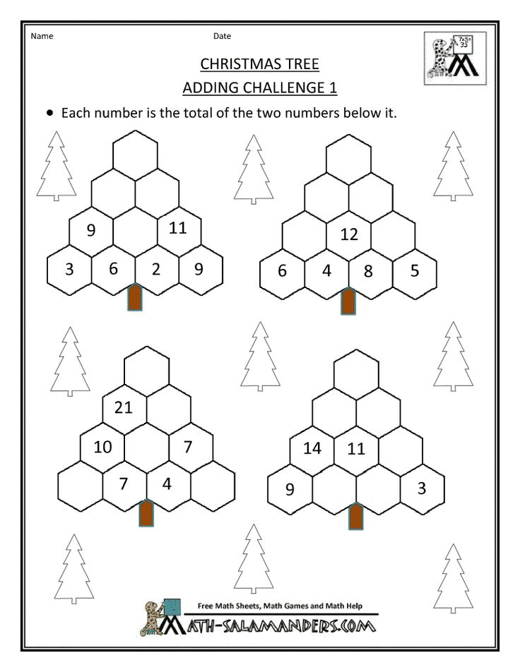 Math Worksheets For High School Students : Christmas math activities for high school students