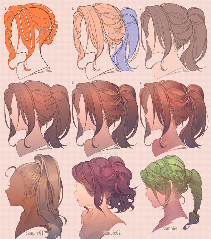 Drawing Hair Hair Hair Drawing In 2020 Art Reference Poses Manga Hair Hair Sketch