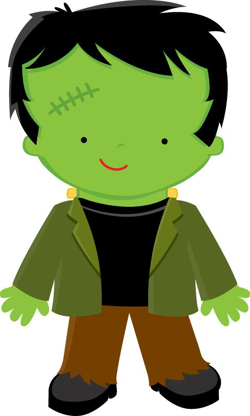 HALLOWEEN FRANKENSTEIN CLIP ART