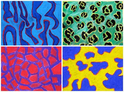 Art With Mr Hall: Fauvist Animal Prints