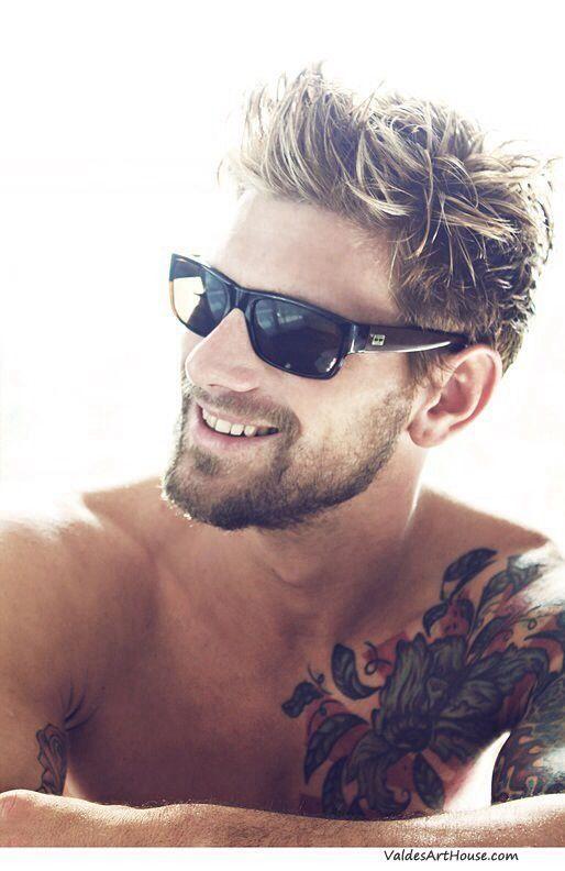 Coif! Mens Hair Style Trends Beard Tattoos