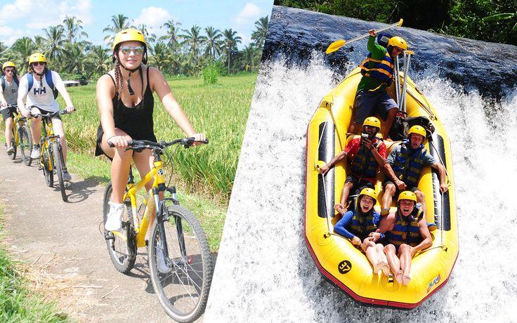 Bali Cycling + Bali Rafting #balicycling #balirafting #baliraftingandbalicycling #baliactivities #balitour