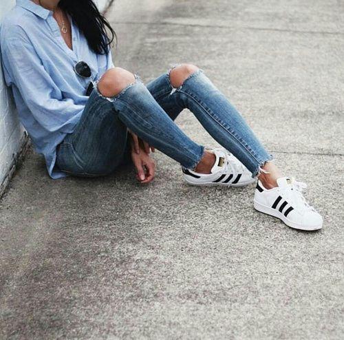 Pinterest: @jadeaubiin Tumblr: @goldenmisery Instagram: @jade_aubin. Adidas  Superstar TumblrAddidas Superstar ShoesAdidas Superstar Outfit ...