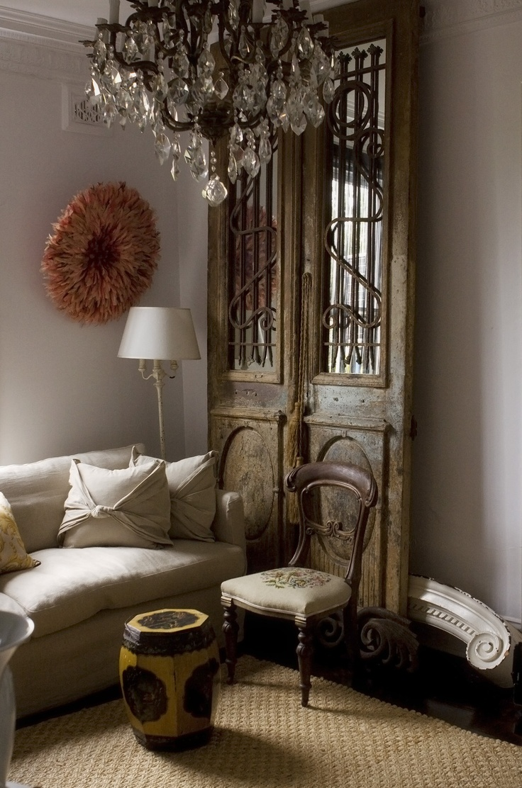 These doors did make me swoon, I mirrored them and giggle at the wonder of children wanting to see where they lead to -   As seen in VOGUE LIVING