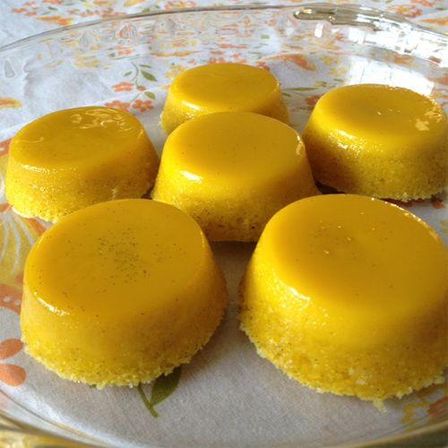 how to make egg custard pudding