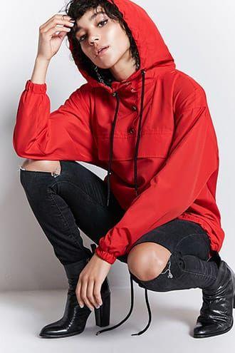 Hooded Anorak Jacket Jetzt bestellen unter: https://mode.ladendirekt.de/damen/bekleidung/jacken/sonstige-jacken/?uid=e34a74c6-8642-5566-a5c5-c0995caffaf3&utm_source=pinterest&utm_medium=pin&utm_campaign=boards #women's #accessories #clothing #outerwear #sonstigejacken #bekleidung #jacken