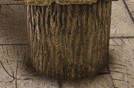 Heavy Bark Log Liner for 24 Concrete Form Tube