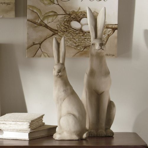 Rabbit house decor