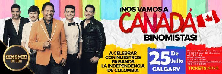 BINOMIO DE ORO EN CALGARY @ CENTURY CASINO  - 25-July https://www.evensi.com/binomio-de-oro-en-calgary-century-casino/155605254