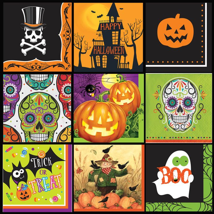 halloween napkins which ones are your favorite halloween partyparty suppliesfun - Halloween Party Supplies