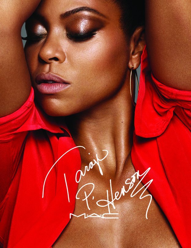 The namesake collection #MACTaraji, set to launch online September 6th and in select MAC stores on September 8th, features six products and they're sexy as hell because duh... it's Taraji.
