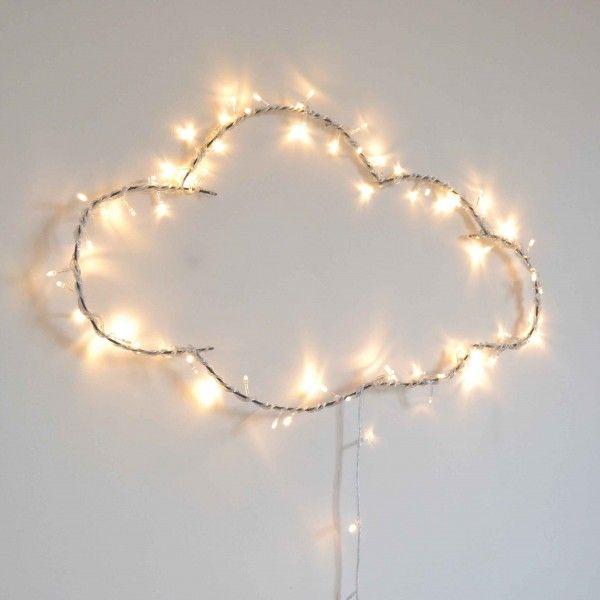 Illuminated cloud #lamp #wolk | Le Repère des Belettes