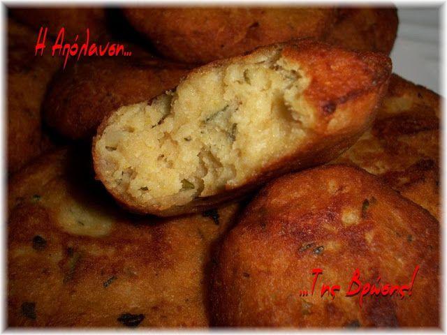 Η απόλαυση της βρώσης ~ Ας μαγειρέψουμε: Πατατοκεφτέδες