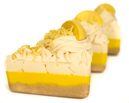 Lemon Meringue Pie Soap by Soap Forte.   www.soapforte.com