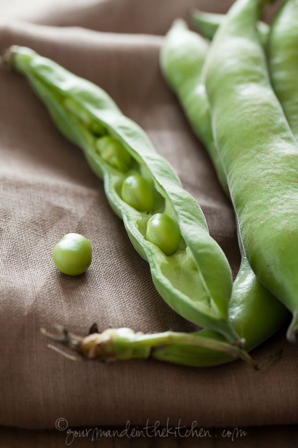 Fava beans from @Sylvie | Gourmande in the Kitchen