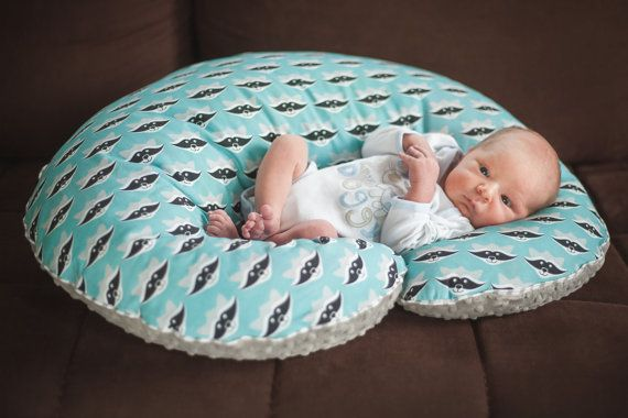 Custom products  Big Nursing Pillow Boppy Breastfeeding by NuvaArt
