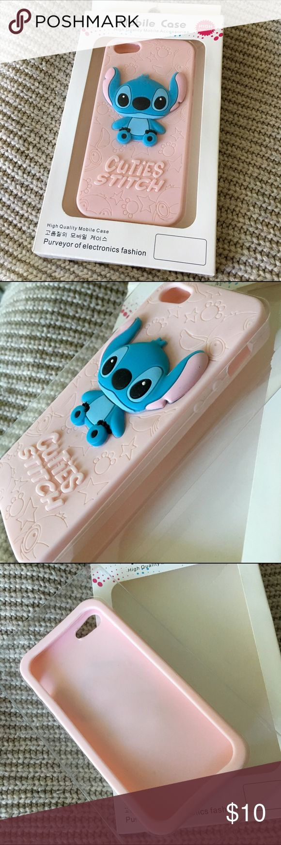 Stitch iPhone 5 Case Adorable Stitch IPhone 5 case, originally bought in Taiwan.  💌 Pre-loved. 💌 Reasonable offers considered. 💌 Please ask questions if any. Accessories Phone Cases
