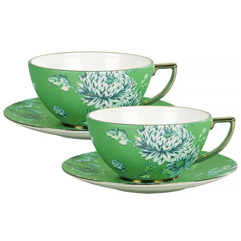 Wedgwood - Jasper Conran Chinoserie Green Tea Set For Two | Peter's of Kensington