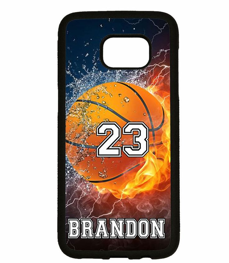 PERSONALIZED NAME NUMBER BASKETBALL PHONE Case For Samsung Galaxy S7 S6 NOTE 5 4 #UnbrandedGeneric