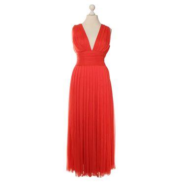 Marc Cain - Abendkleid in Coralle #vintagefashion #secondhandmode