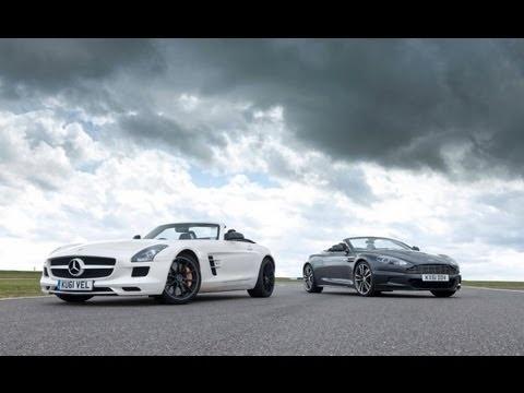 Aston Martin DBS Volante Vs Mercedes-Benz SLS AMG Roadster [EVO]